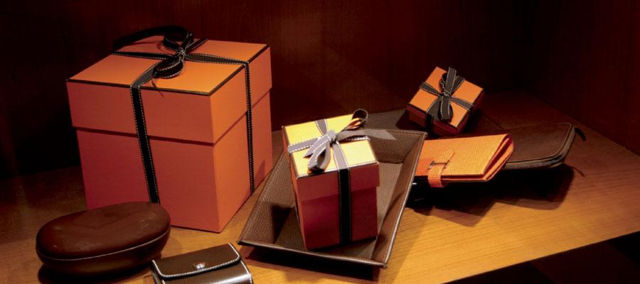 Un cadeau d'entreprise