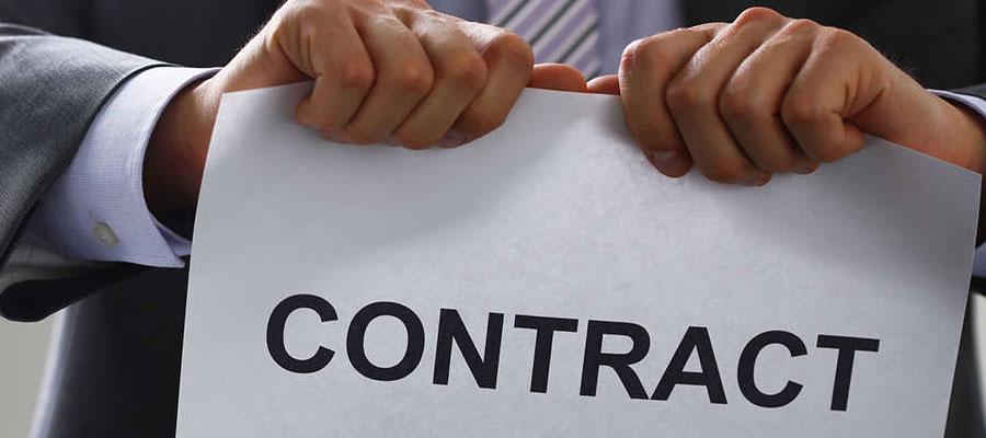 procédure de rupture du contrat de travail